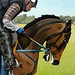 Painting Race Horses