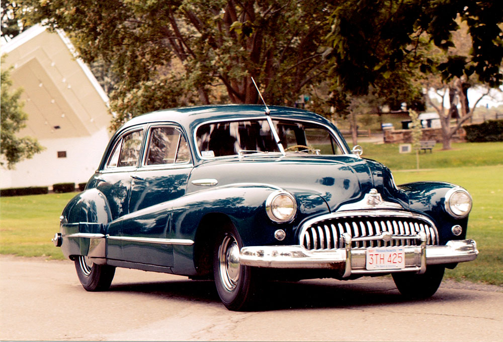 1947 Buick Super survivor in excellent condition.