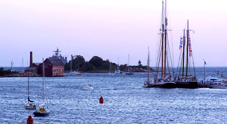 Scenic Gloucester Harbor has been photographed and painted by many artists including Winslow Homer and Fitz Henry Lane.